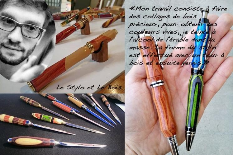 Le stylo et le bois